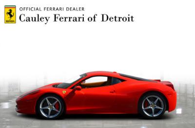 Used 2011 Ferrari 458 Italia Used 2011 Ferrari 458 Italia for sale Sold at Cauley Ferrari in West Bloomfield MI 9