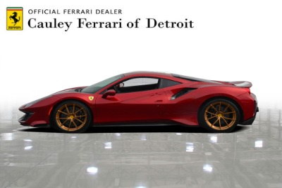 Used 2019 Ferrari 488 Pista Used 2019 Ferrari 488 Pista for sale Sold at Cauley Ferrari in West Bloomfield MI 9