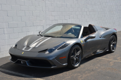 Used 2015 Ferrari 458 Speciale A convertible Used 2015 Ferrari 458 Speciale A convertible for sale $699,900 at Cauley Ferrari in West Bloomfield MI 10