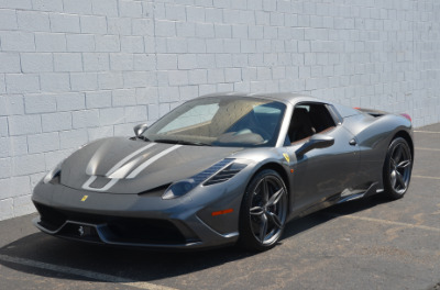 Used 2015 Ferrari 458 Speciale A convertible Used 2015 Ferrari 458 Speciale A convertible for sale $699,900 at Cauley Ferrari in West Bloomfield MI 16