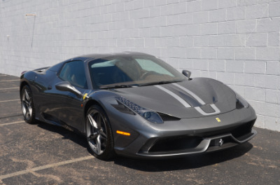 Used 2015 Ferrari 458 Speciale A convertible Used 2015 Ferrari 458 Speciale A convertible for sale $699,900 at Cauley Ferrari in West Bloomfield MI 18