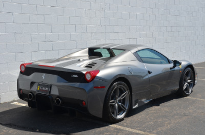 Used 2015 Ferrari 458 Speciale A convertible Used 2015 Ferrari 458 Speciale A convertible for sale $699,900 at Cauley Ferrari in West Bloomfield MI 20