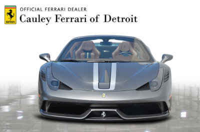 Used 2015 Ferrari 458 Speciale A convertible Used 2015 Ferrari 458 Speciale A convertible for sale $699,900 at Cauley Ferrari in West Bloomfield MI 3