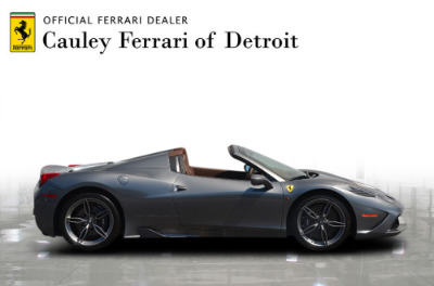 Used 2015 Ferrari 458 Speciale A convertible Used 2015 Ferrari 458 Speciale A convertible for sale $699,900 at Cauley Ferrari in West Bloomfield MI 5