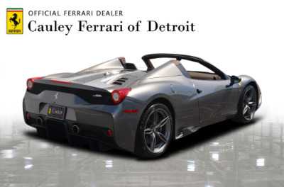 Used 2015 Ferrari 458 Speciale A convertible Used 2015 Ferrari 458 Speciale A convertible for sale $699,900 at Cauley Ferrari in West Bloomfield MI 6
