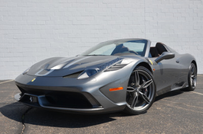 Used 2015 Ferrari 458 Speciale A convertible Used 2015 Ferrari 458 Speciale A convertible for sale $699,900 at Cauley Ferrari in West Bloomfield MI 62