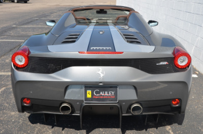 Used 2015 Ferrari 458 Speciale A convertible Used 2015 Ferrari 458 Speciale A convertible for sale $699,900 at Cauley Ferrari in West Bloomfield MI 69