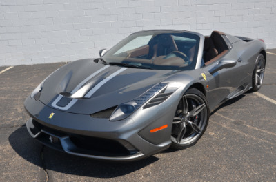 Used 2015 Ferrari 458 Speciale A convertible Used 2015 Ferrari 458 Speciale A convertible for sale $699,900 at Cauley Ferrari in West Bloomfield MI 70