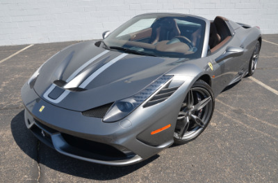 Used 2015 Ferrari 458 Speciale A convertible Used 2015 Ferrari 458 Speciale A convertible for sale $699,900 at Cauley Ferrari in West Bloomfield MI 71