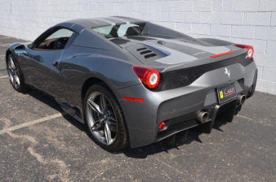 Used 2015 Ferrari 458 Speciale A convertible Used 2015 Ferrari 458 Speciale A convertible for sale $699,900 at Cauley Ferrari in West Bloomfield MI 86