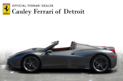 Used 2015 Ferrari 458 Speciale A convertible Used 2015 Ferrari 458 Speciale A convertible for sale $699,900 at Cauley Ferrari in West Bloomfield MI 9
