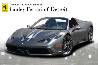 Used 2015 Ferrari 458 Speciale A convertible Used 2015 Ferrari 458 Speciale A convertible for sale $699,900 at Cauley Ferrari in West Bloomfield MI 1