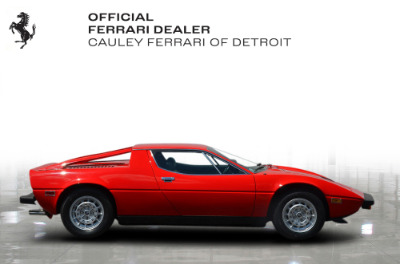 Used 1979 Maserati Merak SS Coupe Used 1979 Maserati Merak SS Coupe for sale $79,900 at Cauley Ferrari in West Bloomfield MI 5