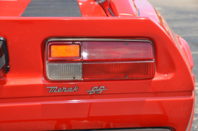 Used 1979 Maserati Merak SS Coupe Used 1979 Maserati Merak SS Coupe for sale $79,900 at Cauley Ferrari in West Bloomfield MI 61