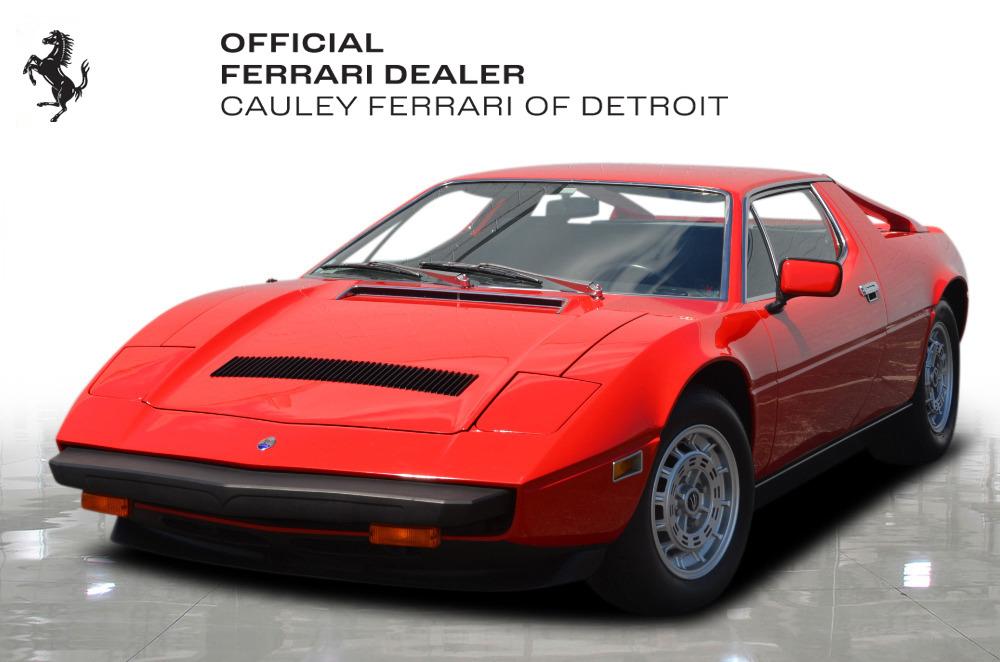 Used 1979 Maserati Merak SS Coupe