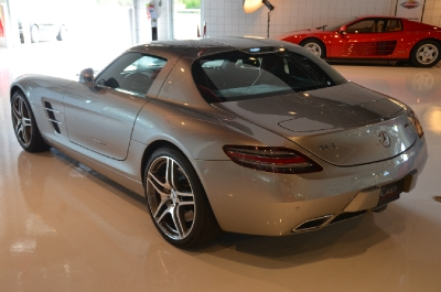 Used 2011 Mercedes-Benz SLS AMG Used 2011 Mercedes-Benz SLS AMG for sale Sold at Cauley Ferrari in West Bloomfield MI 11