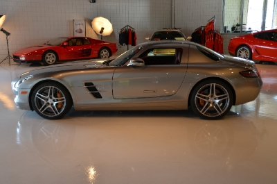 Used 2011 Mercedes-Benz SLS AMG Used 2011 Mercedes-Benz SLS AMG for sale Sold at Cauley Ferrari in West Bloomfield MI 13