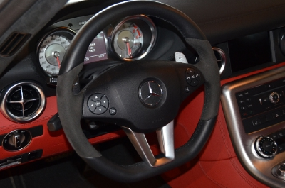 Used 2011 Mercedes-Benz SLS AMG Used 2011 Mercedes-Benz SLS AMG for sale Sold at Cauley Ferrari in West Bloomfield MI 27
