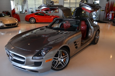Used 2011 Mercedes-Benz SLS AMG Used 2011 Mercedes-Benz SLS AMG for sale Sold at Cauley Ferrari in West Bloomfield MI 3