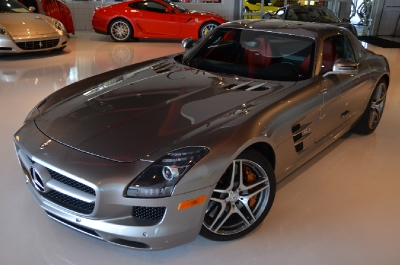 Used 2011 Mercedes-Benz SLS AMG Used 2011 Mercedes-Benz SLS AMG for sale Sold at Cauley Ferrari in West Bloomfield MI 4
