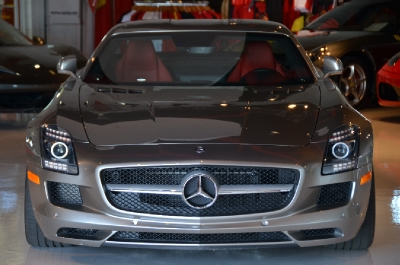 Used 2011 Mercedes-Benz SLS AMG Used 2011 Mercedes-Benz SLS AMG for sale Sold at Cauley Ferrari in West Bloomfield MI 5