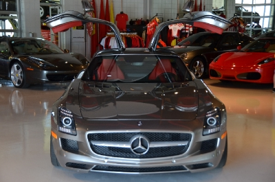 Used 2011 Mercedes-Benz SLS AMG Used 2011 Mercedes-Benz SLS AMG for sale Sold at Cauley Ferrari in West Bloomfield MI 6
