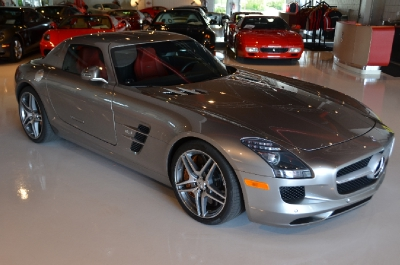 Used 2011 Mercedes-Benz SLS AMG Used 2011 Mercedes-Benz SLS AMG for sale Sold at Cauley Ferrari in West Bloomfield MI 7