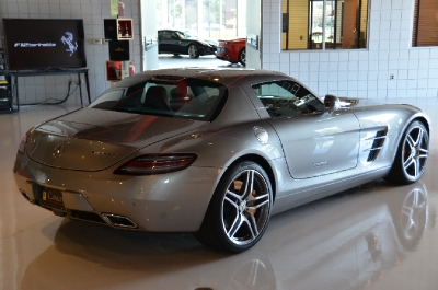 Used 2011 Mercedes-Benz SLS AMG Used 2011 Mercedes-Benz SLS AMG for sale Sold at Cauley Ferrari in West Bloomfield MI 9