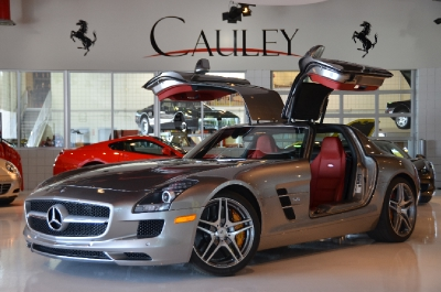 Used 2011 Mercedes-Benz SLS AMG Used 2011 Mercedes-Benz SLS AMG for sale Sold at Cauley Ferrari in West Bloomfield MI 1