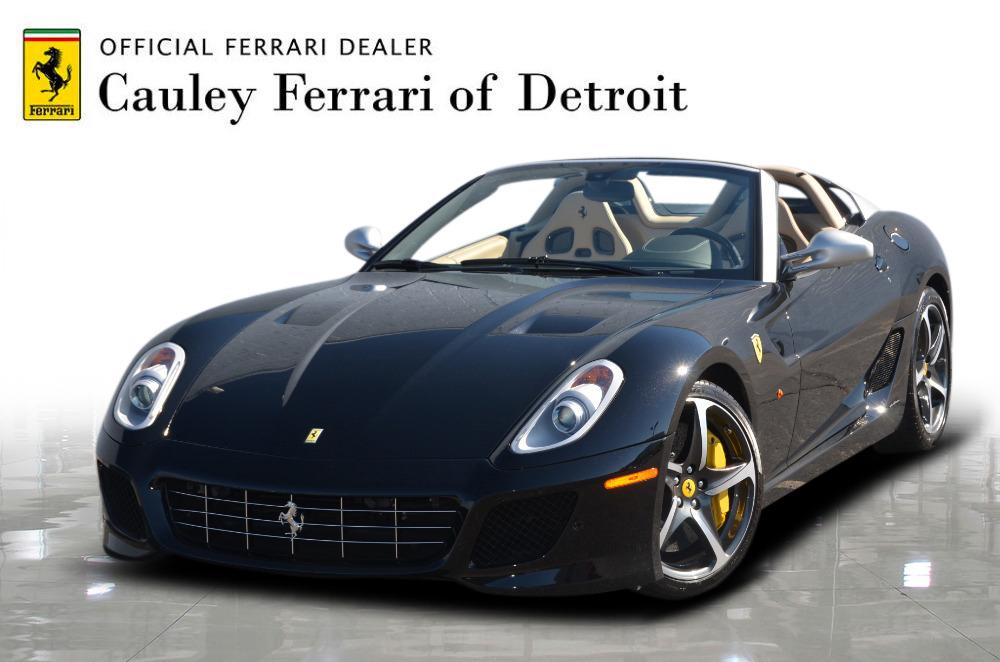 Used 2011 Ferrari 599 SA Aperta