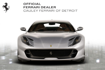 Used 2020 Ferrari 812 Superfast Coupe Used 2020 Ferrari 812 Superfast Coupe for sale Call for price at Cauley Ferrari in West Bloomfield MI 3