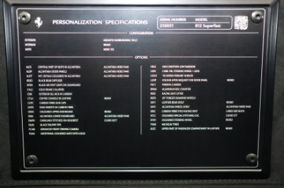 Used 2020 Ferrari 812 Superfast Coupe Used 2020 Ferrari 812 Superfast Coupe for sale Call for price at Cauley Ferrari in West Bloomfield MI 89