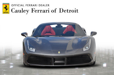 Used 2017 Ferrari 488 Spider Used 2017 Ferrari 488 Spider for sale $269,900 at Cauley Ferrari in West Bloomfield MI 3