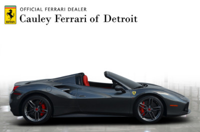 Used 2017 Ferrari 488 Spider Used 2017 Ferrari 488 Spider for sale $279,900 at Cauley Ferrari in West Bloomfield MI 5