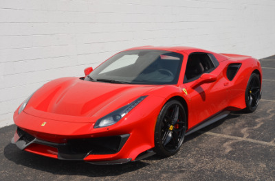 Used 2019 Ferrari 488 Pista Spider Used 2019 Ferrari 488 Pista Spider for sale Sold at Cauley Ferrari in West Bloomfield MI 18