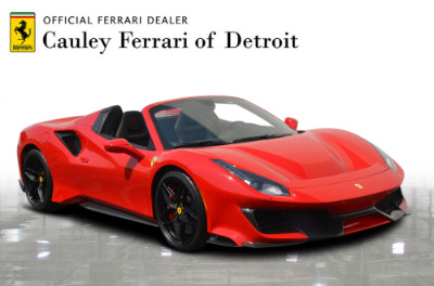 Used 2019 Ferrari 488 Pista Spider Used 2019 Ferrari 488 Pista Spider for sale Sold at Cauley Ferrari in West Bloomfield MI 4