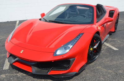 Used 2019 Ferrari 488 Pista Spider Used 2019 Ferrari 488 Pista Spider for sale Sold at Cauley Ferrari in West Bloomfield MI 60