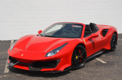 Used 2019 Ferrari 488 Pista Spider Used 2019 Ferrari 488 Pista Spider for sale Sold at Cauley Ferrari in West Bloomfield MI 62