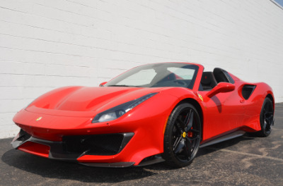 Used 2019 Ferrari 488 Pista Spider Used 2019 Ferrari 488 Pista Spider for sale Sold at Cauley Ferrari in West Bloomfield MI 66