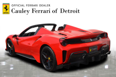 Used 2019 Ferrari 488 Pista Spider Used 2019 Ferrari 488 Pista Spider for sale Sold at Cauley Ferrari in West Bloomfield MI 8