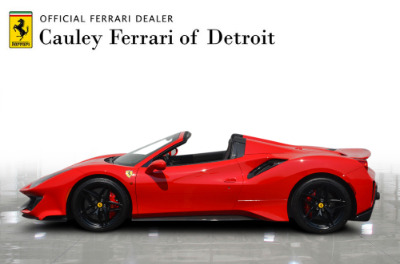 Used 2019 Ferrari 488 Pista Spider Used 2019 Ferrari 488 Pista Spider for sale Sold at Cauley Ferrari in West Bloomfield MI 9
