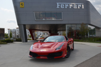 Used 2019 Ferrari 488 Pista Spider Used 2019 Ferrari 488 Pista Spider for sale Sold at Cauley Ferrari in West Bloomfield MI 90