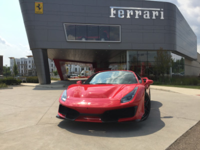 Used 2019 Ferrari 488 Pista Spider Used 2019 Ferrari 488 Pista Spider for sale Sold at Cauley Ferrari in West Bloomfield MI 91