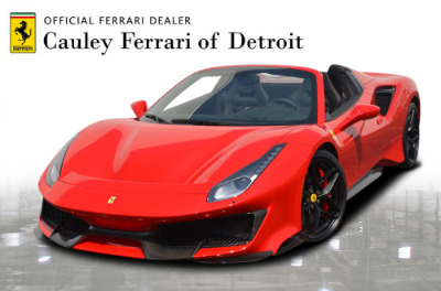 Used 2019 Ferrari 488 Pista Spider Used 2019 Ferrari 488 Pista Spider for sale Sold at Cauley Ferrari in West Bloomfield MI 1