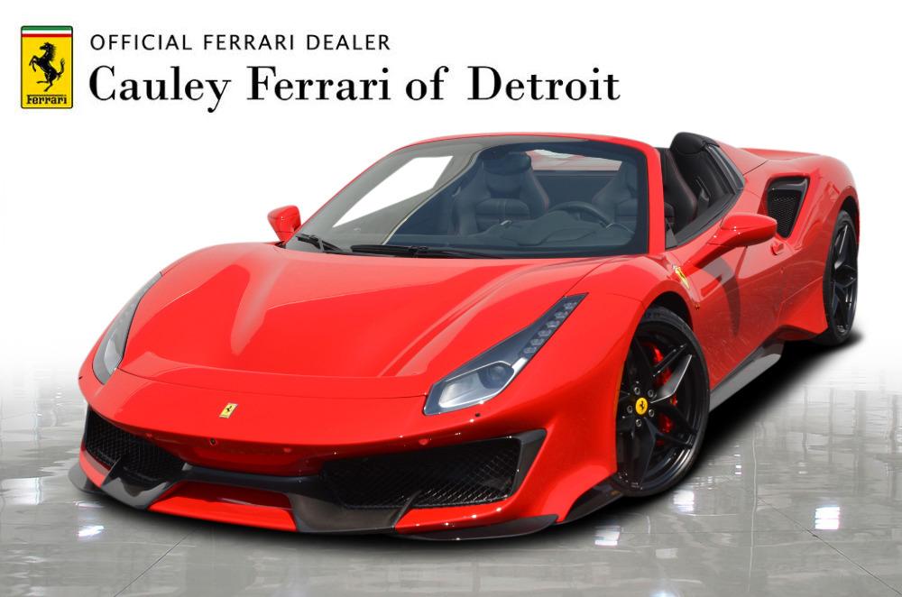 Used 2019 Ferrari 488 Pista Spider