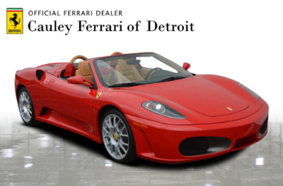 Used 2006 Ferrari F430 Spider F1 Spider Used 2006 Ferrari F430 Spider F1 Spider for sale Sold at Cauley Ferrari in West Bloomfield MI 4