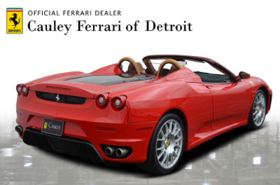 Used 2006 Ferrari F430 Spider F1 Spider Used 2006 Ferrari F430 Spider F1 Spider for sale Sold at Cauley Ferrari in West Bloomfield MI 6