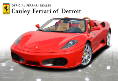 Used 2006 Ferrari F430 Spider F1 Spider Used 2006 Ferrari F430 Spider F1 Spider for sale Sold at Cauley Ferrari in West Bloomfield MI 1