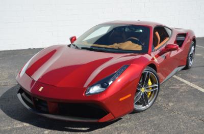 Used 2017 Ferrari 488 GTB Base Used 2017 Ferrari 488 GTB Base for sale Sold at Cauley Ferrari in West Bloomfield MI 54
