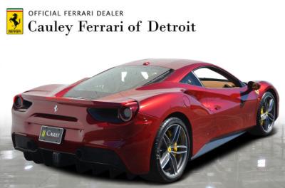 Used 2017 Ferrari 488 GTB Base Used 2017 Ferrari 488 GTB Base for sale Sold at Cauley Ferrari in West Bloomfield MI 6